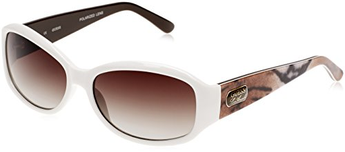 GUESS Eyewear Rectangle Sunglasses - Sunglasses Frame White Guess