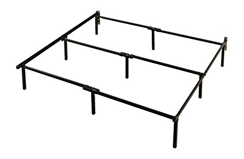 Zinus 12 Inch Compack Bed Frame / For Box Spring & Mattress Sets / Extra High / Bed Risers not needed, Cal King