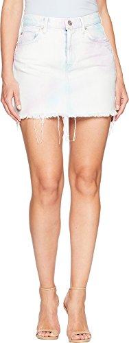 Denim Flap Pocket Skirt - Hudson Women's The Viper Mini Skirt in Not That Innocent Not That Innocent 30