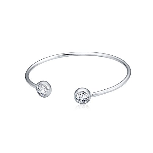 [Open Bangle Bracelets White Gold Plated Swarovski Elements Crystal Fashion Jewelry for Women Girls] (Best Mother And Son Costumes)