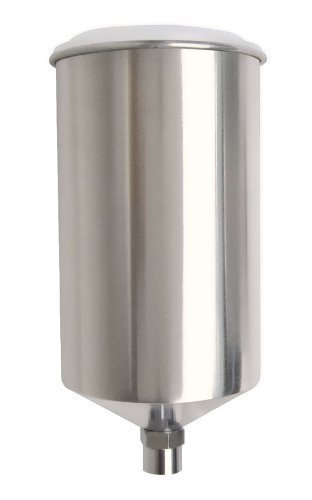 Titan 19906-1000ML Aluminum Gravity Feed Paint Cup w/Lid (2-Pack)