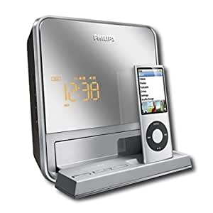 philips dc190b 37 digital fm dual alarm clock radio with ipod dock everything else. Black Bedroom Furniture Sets. Home Design Ideas