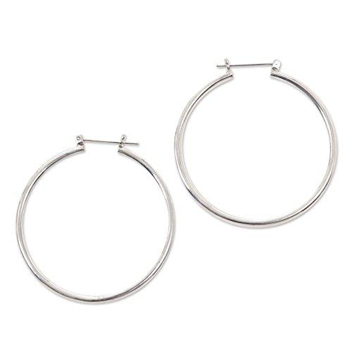 novica-925-sterling-silver-hoop-earrings-moonlit-goddess-46mm
