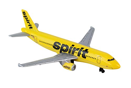 Daron Spirit Airlines Single Die-Cast Plane