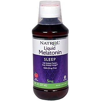Amazon.com: Melatonina, 5 mg, 8 oz por Natrol: Health ...