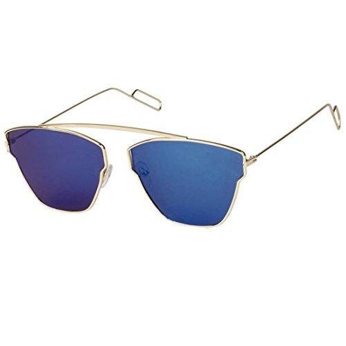 Phenomenal Butterfly Blue Unisex Sunglasses