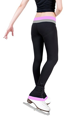 ny2 Sportswear Figure Skating Pants with 2 tones Waistband