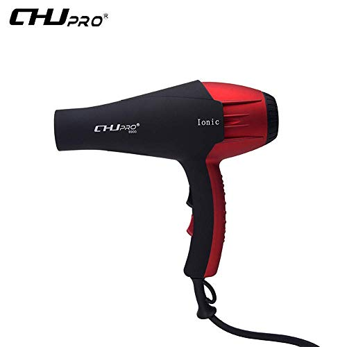 Sudroid ChuPro Professional Hair Dryer 1600-2100W Long Cord Quick Ceramic Hair Dryer Negative Ions Ceramic Ionic Concentrator and Diffuser