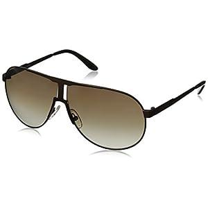 Carrera New Panamerika Aviator Sunglasses, Semi Matte Brown & Brown Gradient, 64 mm