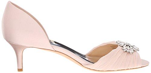 Badgley Mischka Womens Sandalo Con Zeppa Sveglia Rosa Chiaro