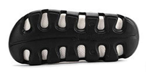 Femaroly Uomo Black 5 EU Sandali White 39 zzxrqSpfw