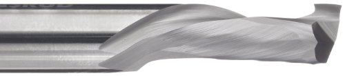 variant image of LMT Onsrud 60-181MW Solid Cabide Max Life Compression Spiral Cutting Tool, Inch, Uncoated (Bright) Finish, 30 Degree Helix, 2 Flutes, 5.0000