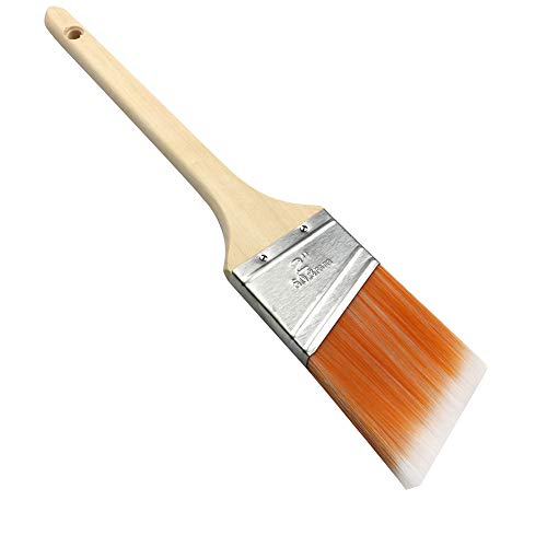 MAXMAN Angle Sash Paint Brush,Trim Paint Brushes for Walls,Wood Handle,2-Inch - $5.99