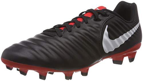 - Nike Men Tiempo Legend VII Academy FG Firm-Ground Soccer Cleat (9 D(M) US, Black/Light Crimson/Pure Platinum)
