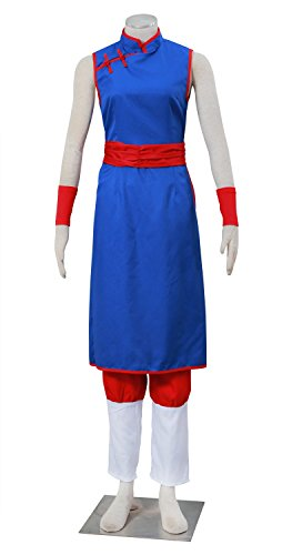 Dazcos Adult / Kids Chi Chi Blue Dress Cosplay Costume (Women Large, (Female Goku Costume)