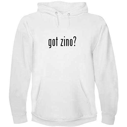 - The Town Butler got Zino? - Men's Hoodie Sweatshirt, White, XXX-Large
