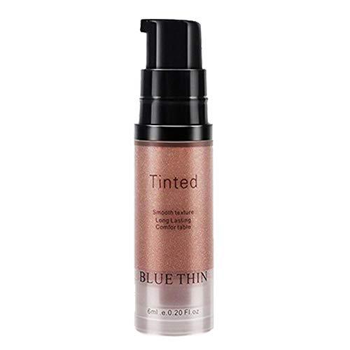 Clearance Sale!UMFun Highlighter Makeup Gold Liquid Face Eye Contour Brightener Glow Shimmer (Rose Gold)]()