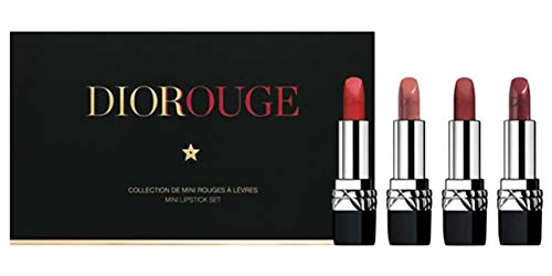 DIOR Rouge Dior Mini 4 - Piece Set Holiday 2018 Limited ()