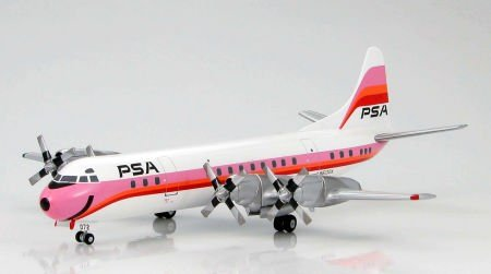 HOBBY MASTER 1/200 L-188エレクトラ パシフィック・サウスウエスト航空 HL1011