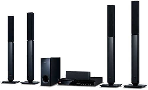 LG BH6540T 5.1 3D Blu-ray Heimkinosystem (1000 Watt, 1080p Upscaling, Bluetooth, Smart TV, Internetradio, Spotify) schwarz