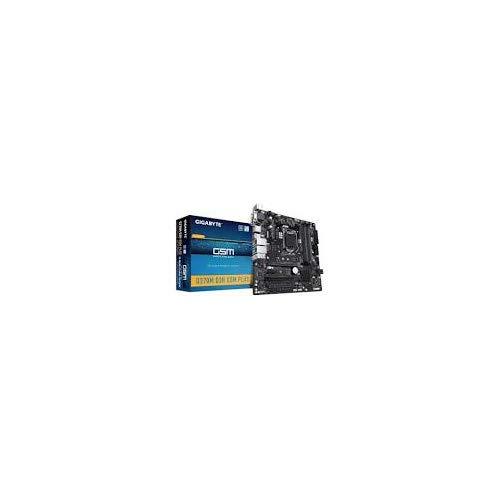 Gigabyte Q370M D3H GSM Plus Desktop Motherboard - Intel Chipset - Socket H4 LGA-1151-64 GB DDR4 SDRAM Maximum RAM - DIMM, UDIMM - 4 x Memory Slots - Gigabit Ethernet - 6 x USB 3.1 Port - HDMI - DVI
