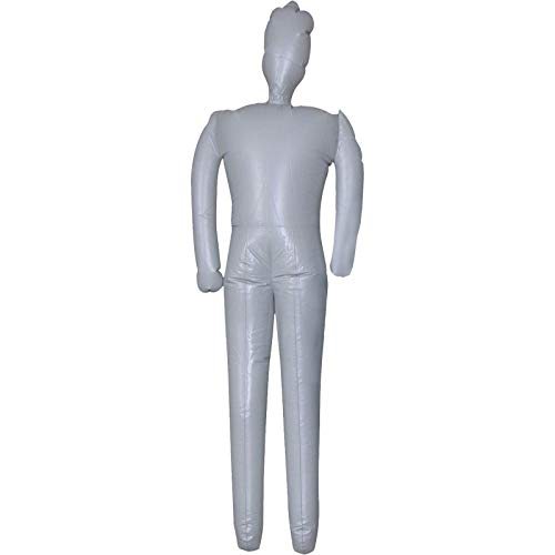 WAWA HORROR Male Inflatable Mannequin Display Dummy Halloween Costume Prop Man-6Ft -