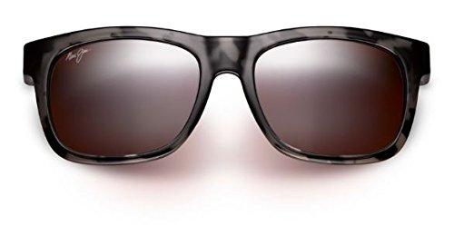 Maui Jim Snapback Polarized Sunglasses Grey Tortoise / Maui Rose One Size