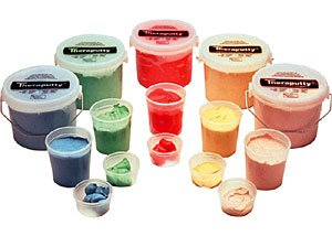 Cando Theraputty Complete Set - 1 lb - 1 of Each by Fabrication