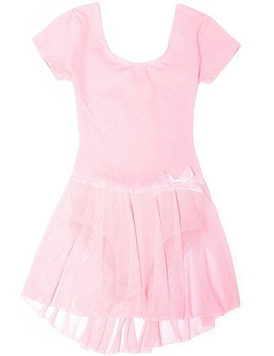 Mdnmd Girls Skirted Sleeve Leotard product image