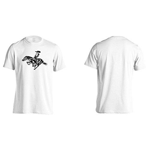 Neues Pferd Und Texas Rennen Herren T-Shirt l550m