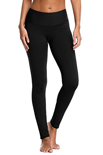 beautyin Women's Tummy Control Yoga Pants Stretch Workout Running Leggings Inner Pocket