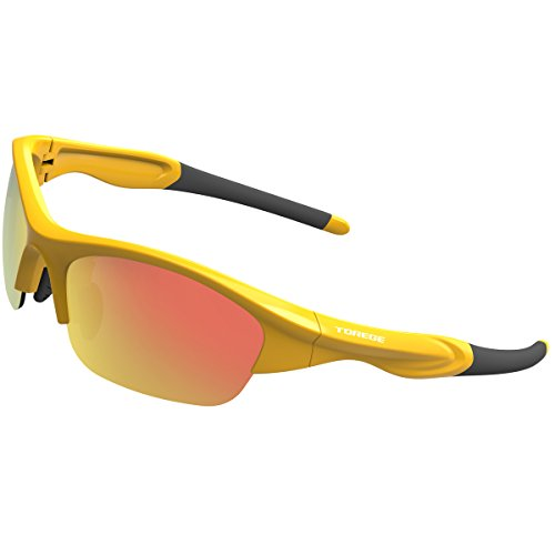 382d33453a TOREGE Tr90 Flexible Kids Sports Sunglasses Polarized Glasses for Junior  Boys Girls Age 3-12