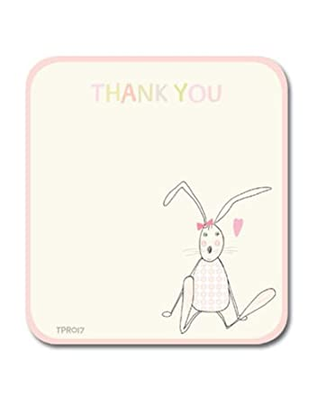 Baby Girl Thank You Cards Pack Of Ten Cards Amazon Co Uk Kitchen
