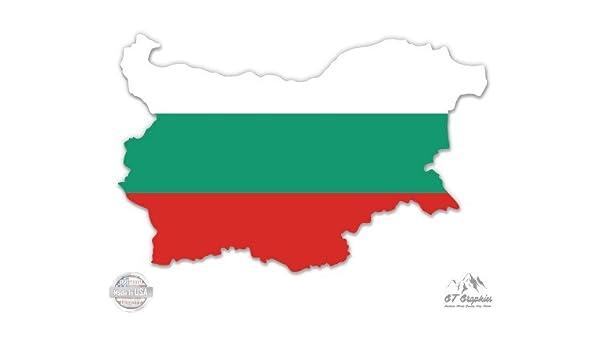 Bulgaria Flag Vinyl Decal Sticker ** 5 Sizes **