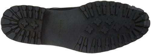 Rush by Gordon Rush Mens Sullivan Cap Toe Lace-up Engineer Boot Black vGQ54tB3s
