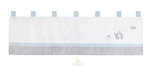 GEENNY OptimaBaby Blue Grey Elephant Bedding Sets