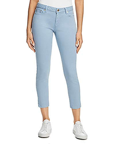 MICHAEL Michael Kors Womens Izzy Slimming Cropped Skinny Jeans Blue 8