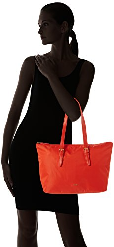 BREE Damen Barcelona Nylon 18 S17 Henkeltasche, Orange (Coralle), One Size