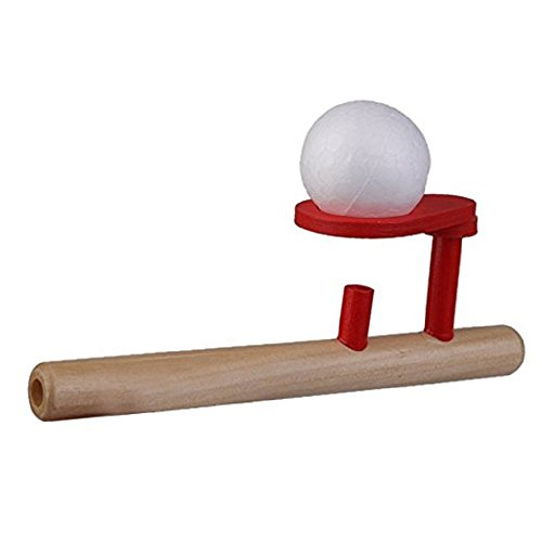 DierCosy Kids Blow Ball Rod Toys Magic Trick Blowing Ball Balance Training Floating Ball Game Children Boys Girls Learning Educational Toy