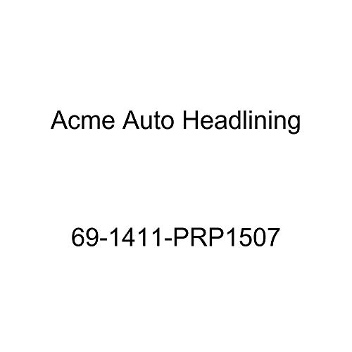 (Acme Auto Headlining 69-1411-PRP1507 Red Replacement Headliner (1969 Chevy Impala 2 Door Sport and Super Sport Hardtop Fastback (5 Bow)))