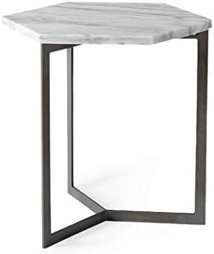 Tavolini Da Salotto Che Si Trasformano In Tavoli Da Pranzo.Tavolino Da Salotto Esagonale Di Marmo Tavolo Da Pranzo In Metallo
