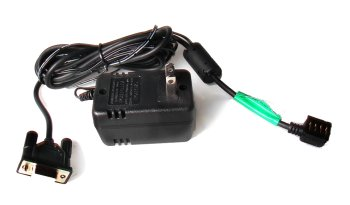 Garmin compatible PC Interface cable with 110V Power Adapter combo cable for eTrex, eMap, Geko (Vista, Legend, - Etrex Pc