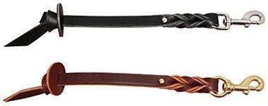 BLACK 1 2\ BLACK 1 2\ Auburn Leathercraft Correction Pull Tab 1 2  x 12  Black