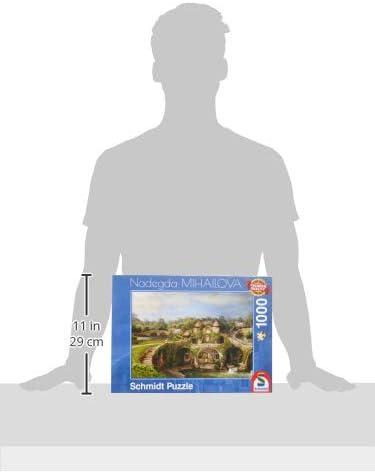 Coloured Schmidt Spiele Jigsaw Puzzle 59610/NADEGDA Mihailova Island of Waterfalls 1000/Pieces