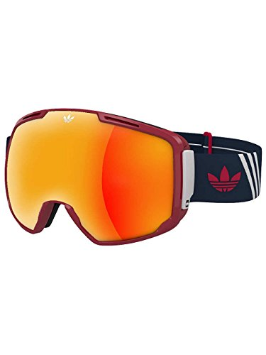 Lst Goggle (adidas Originals Superior Snow Goggles One Size LST Active Silver Mirror)