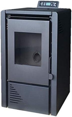 Mekka Estufa a Pellets 6 kW (Negro)