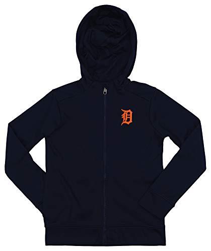 Outerstuff MLB Tigers Boys 8-20 Performance Full Zip Hoody 20-XL ()