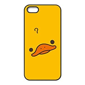 Custom Duck Design Rubber TPU Case for Iphone 5 5S