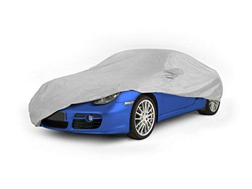 ASCCC MEDIUM - Soft Indoor Car Cover - Silver - Protect from dust dirt etc PEVA Material