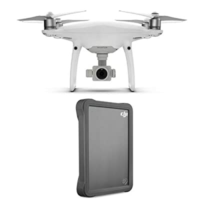 DJI Phantom 4 Pro Quadcopter Drone with Standard Remote Controller - With Seagate DJI Fly Drive 2TB